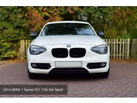 BMW 1 Series F21 2014 116i Sport 3dr Apline White - High Spec - Mint Condition