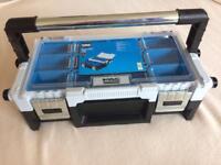 Mac allister cantilever toolbox/fishing box