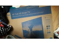 43inch smart tv (brand new in box)