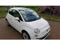 Fiat 500 Lounge. Glass roof, start stop, a/c. Immaculate