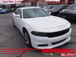 """2016 Dodge Charger SXTHTD SEATS, ROOF, 8.4""""SCREEN, R.START, 18"""""""