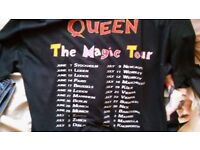 Queen Tour T shirt 1986 Vintage