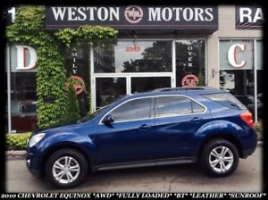 2010 Chevrolet Equinox AWD* FULLY LOADED* GREAT CONDITION!