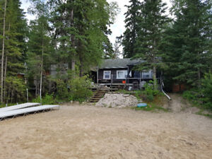 Emma Lake cabin for sale LAKE FRONT