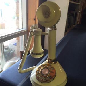 Deco-tel Vintage Candlestick Phone