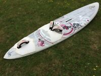 Fanatic Team Edition New Wave 79 litre Wave board. 2010