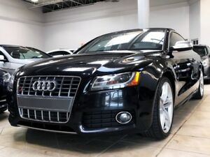 2010 Audi S5 4.2L 6-SPD | NAV | RED-LTHR | LOADED!