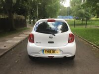 2016 NISSAN MICRA VIBE 5DR 1.2 PETROL **DRIVES SUPERB + CHEAP TO INSURE AND TAX + MUST BE SEEN**