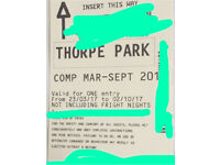 Thorpe Park Tickets (Any Date)