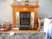 Fireplace. full working order.