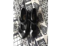 Tap shoes size one