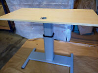Height Adjustable Office Table 1400mm x 700mm