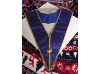 Masonic provincial craft undress collar.