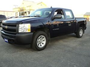 2010 Chevrolet Silverado 1500 CrewCab WT 4.8 L 5.5ft Box