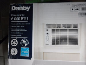Danby 6000 BTU window A/C