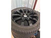 """20"""" genuine Range Rover Sport V spoke supercharged alloys"""