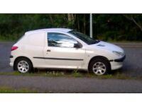 Peugeot 206 diesel van £600 ono