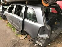 VAUXHALL ZAFIRA 2007 GREY 5DR 1.6 PETROL (P/C Z155) BREAKING FOR SPARES