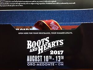 Boots and hearts tickets 2017