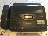 Panasonic Phone and Fax Machine KX- F2700, and 5 rolls