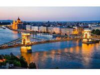 London - Budapest - London
