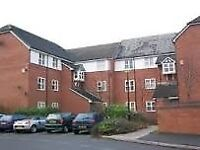 2 bed furnished property with secure parking to let