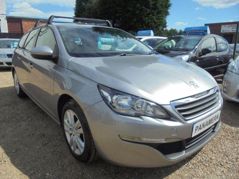 2014 14 PEUGEOT 308 1.6 HDI SW ACTIVE 5D 115 BHP NEW SHAPE FREE ROAD TAX SAT NAV