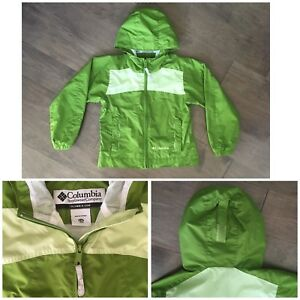 COLUMBIA Spring/Fall Waterproof Jacket size 6/6X $15 LIKE NEW