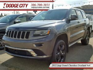 2015 Jeep Grand Cherokee Overland | 4x4 | PST PAID