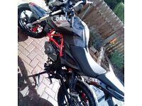 KSR Moto Grs 125cc 2015 65plate swap/sell 125 50 150 70 Cbr yzf sinnis