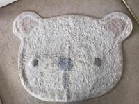 Teddy bear nursery rug