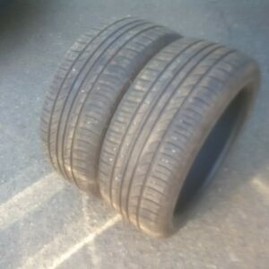 225-40-18 summer tires x 2 for sale