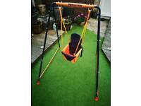 Baby indoor/outdoor swing
