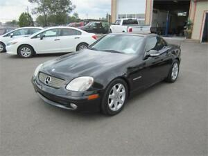 MERCEDES SLK 230 2001 CONVERTIBLE * TOIT RIGIDE * TANGUAY AUTOS
