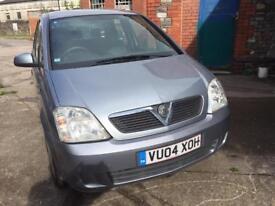 Vauxhall meriva diesel new mot