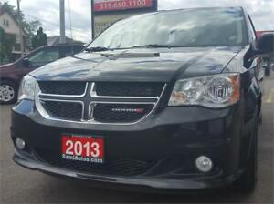 2013 Dodge Grand Caravan Crew NAV LEATHER 2 YRS WAR