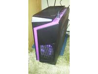 Chillblast Fusion Arrow Gaming PC (purple) - i5-7400, GTX 1060 (see listing for full spec)