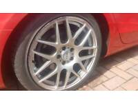 5x112 audi vw merc fitment 18 inch 4 almost new tyres