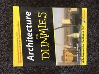 Architecture for dummies book