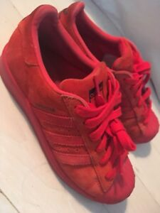 Adidas Superstar Women's Shoes Red