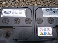 Car battery 12v, Land Rover brand, heavy duty 70Ah, 600 amps, excellent condition.