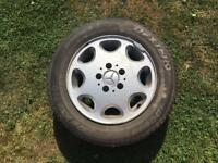 Mercedes e class w124 8 hole alloy wheels