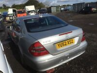 Mercedes Benz e 270 cdi w211 parts available