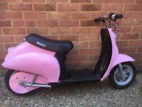 Pink motor bike for Children
