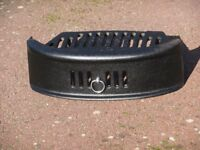 fire grate and front