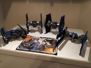 Lego star wars TIE fighter collection #10131 COMPLET