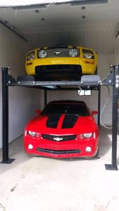 Lift stationnement Parkinglift Machine a pneus Compresseur  Lift