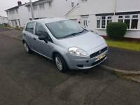 Fiat Grande punto 1.2 active. Low mileage. MOT Feb 2018