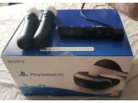 Playstation Virtual Reality Headset + Playstation Camera + 2 Move Controllers £250