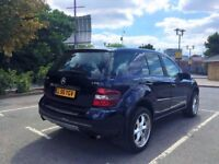 Mercedes ML 320 CDI 3.0 diesel 7-g automatic full leather 55 plate